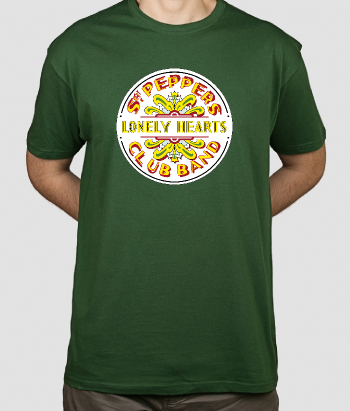 T-shirt muziek Beatles Sergeant Peppers