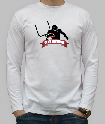 Play the Game American Football Shirt