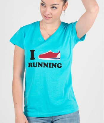 T-shirt I love Running