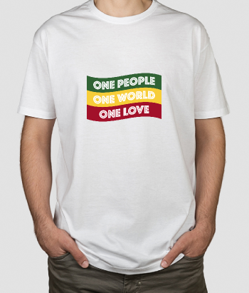 T-shirt Rasta flag