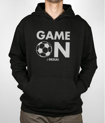 Camisola desporto futebol Game on