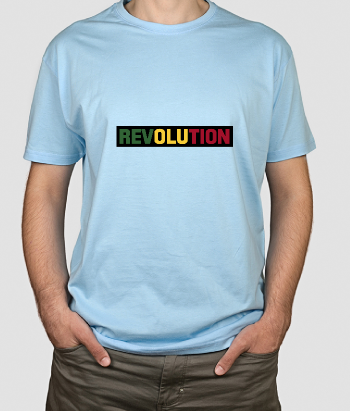 Camiseta original Rasta revolution