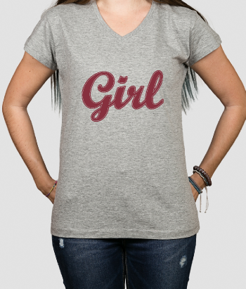 T-shirt ragazza girl