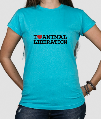 T-Shirt Tiere Animal Liberation