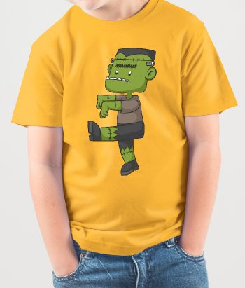 Kinder T-Shirt Frankenstein´s Monster