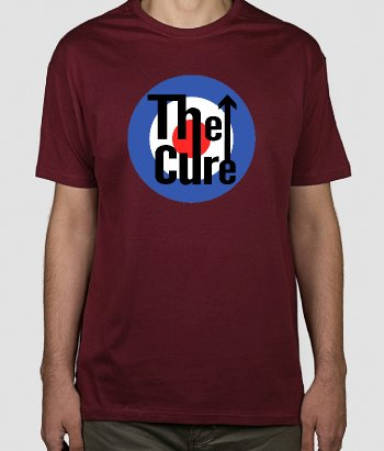 Camiseta música The who & The Cure