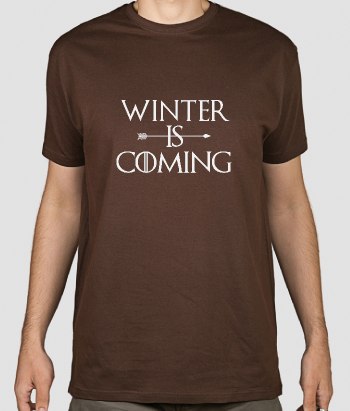 T-Shirt Serie GoT Winter is coming
