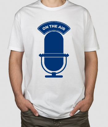 T-shirt Radio on the air