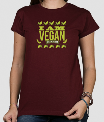 T-shirt I am vegan