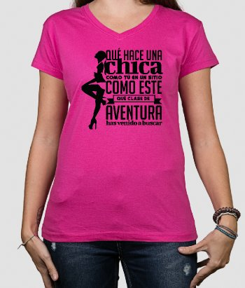 Camiseta rock chica  Burning