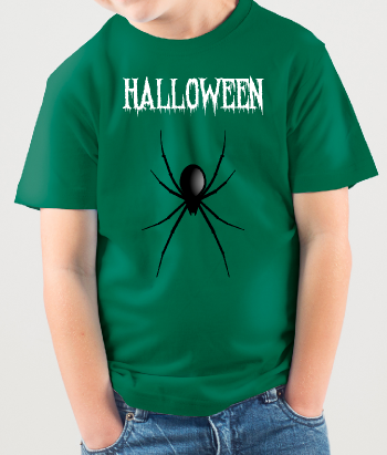 T-Shirt Halloween Spinne