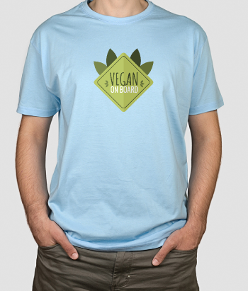 Vegan on Board T-Shirt