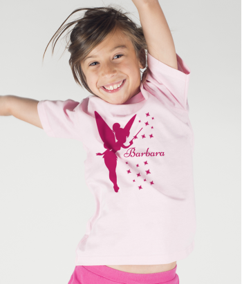Personalisiertes Kinder T-Shirt Tinkerbell