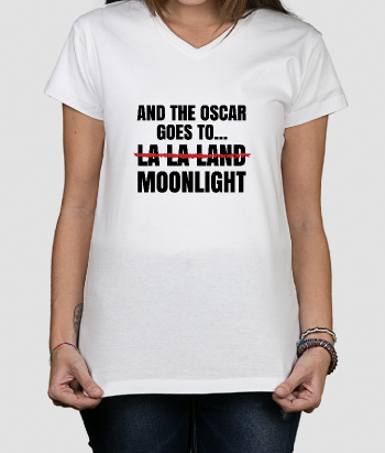 T-Shirt divertida la la landa vs moonlight
