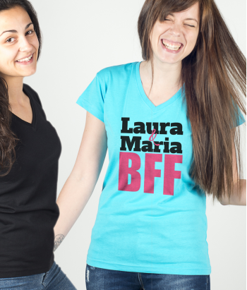 Customisable BFF Duo Shirt