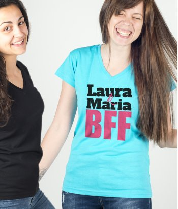 Camiseta personalizable BFF