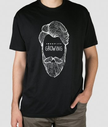 Camiseta Keep it growing