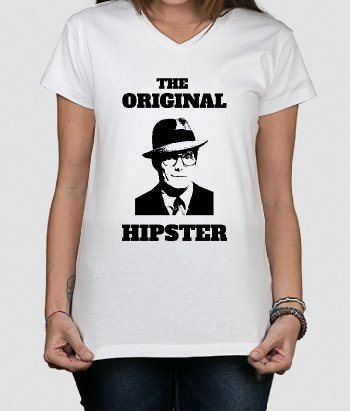 T-shirt The original hipster