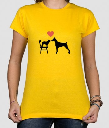 T-shirt amour chiens