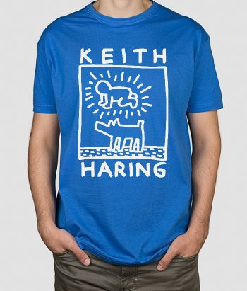 Camiseta  original Keith Haring