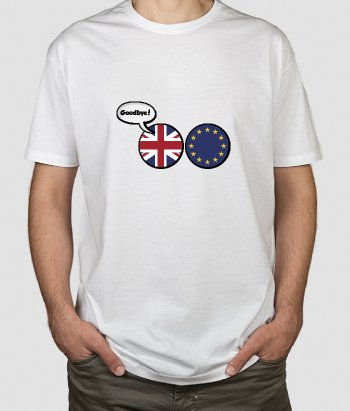 T-Shirt Goodbye Brexit