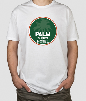 Camiseta retro Palm Suites Hotel
