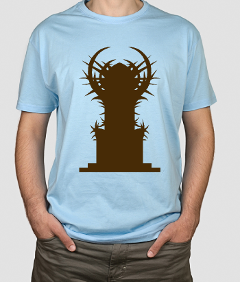 T-shirt serie tv iron throne