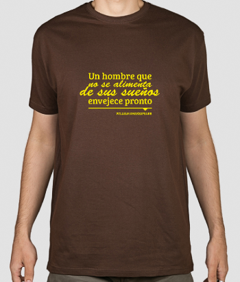 Camiseta con mensaje William Shakespeare