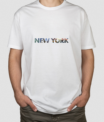 Camiseta lugares fotomural New York