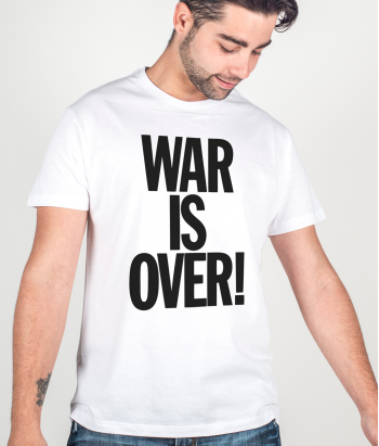 T-shirt musica War is over