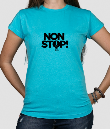 Non Stop Women's Text T-Shirt