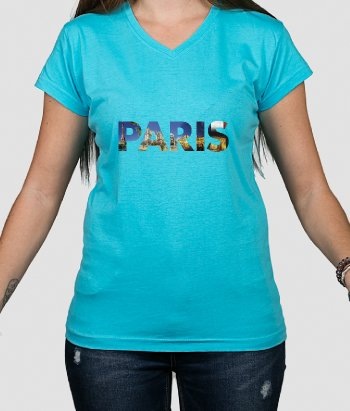 T-shirt lieux Paris photos