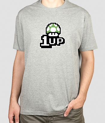 1UP Super Mario T-Shirt