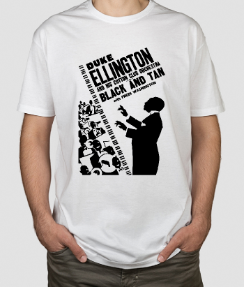 T-shirt musica Duke Ellington