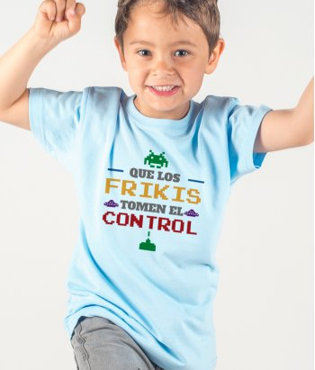 Camiseta control freak