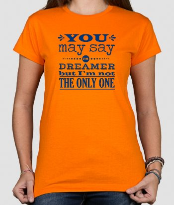 John Lennon Imagine lyrics t-shirt