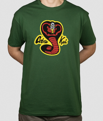T-shirt film Karate Kid Cobra Kai