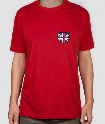 T-Shirt Brusttasche Union Jack