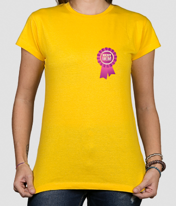 Camiseta bolsillo Best Mom