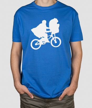 T-shirt cinema bicicleta ET