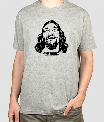 T-shirt cinema ritratto The Dude