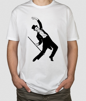 T-shirt retro Fred Astaire