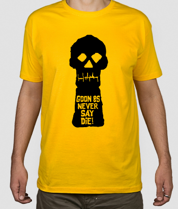 Camiseta Goonies never say die