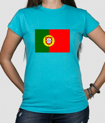 T-Shirt Flagge Portugal