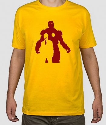 T-shirt superheróis Iron Man