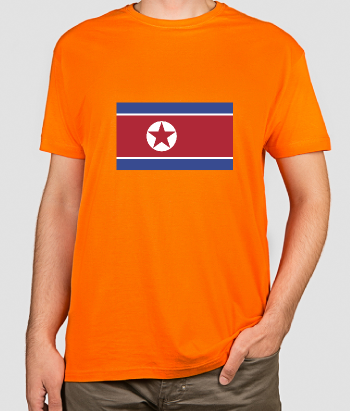 Camisola bandeira Coreia do Norte