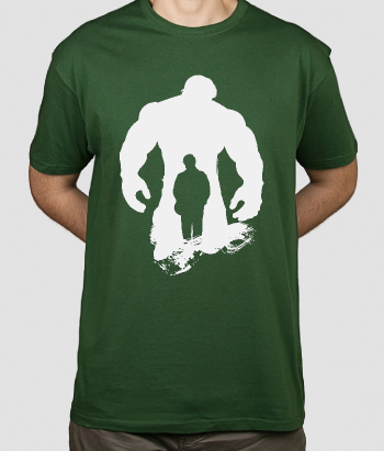 T-shirt supereroi Hulk