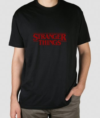 Camiseta series Stranger Things