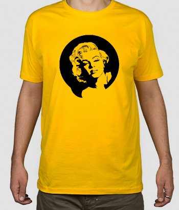 T-shirt cinema Marilyn Monroe