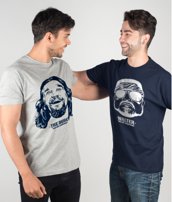 T-shirt Duo Dude en Walter